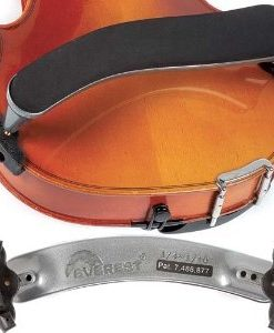Everest Silver ES Series 1/4-1/10 Violin Adjustable Shoulder Rest